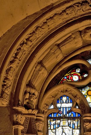 Maize? in Rosslyn Chapel