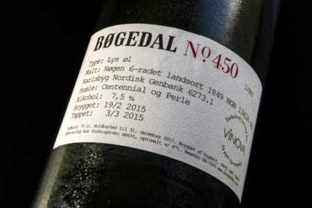 Bøgedal no. 450 made from two heritage varieties of barley, Nordic Genebank #13416 and #6273.1. Photo Ove Fosså.